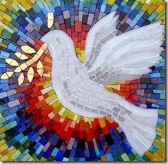 peace dove window
