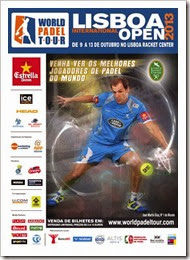 Lisboa International Open WPT 2013: comienza el cuadro final en Portugal WORLD PADEL TOUR