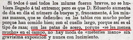 1909 (Carralero) El manoseo de los MIuras 01