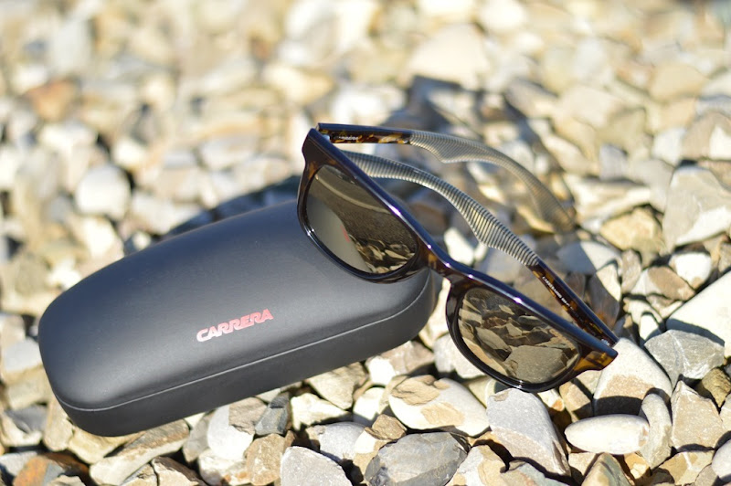Carrera sunglasses, carrera wayfarer, occhiali da sole carrera, carrera lente specchiata, occhiali da sole specchiati, Carrera Havana Black Stripe 858
