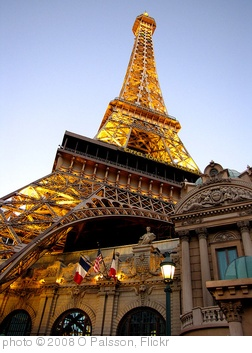 'Las Vegas Eiffel Tower at dusk' photo (c) 2008, O Palsson - license: http://creativecommons.org/licenses/by/2.0/