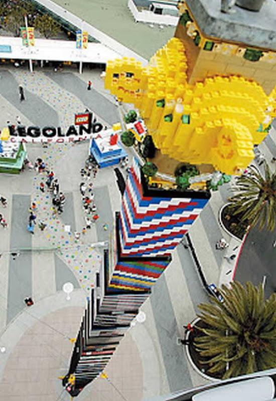2- A Torre de Lego Mais Alta do Mundo