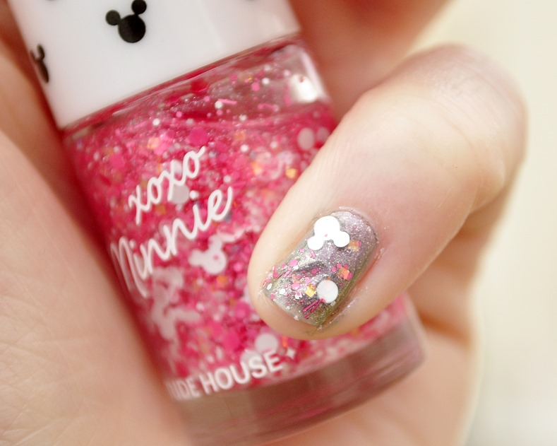 minnie mouse nail polish etude house review swatches 3