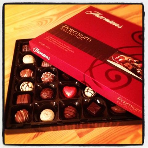 #340 - Thorntons premium collection chocolates