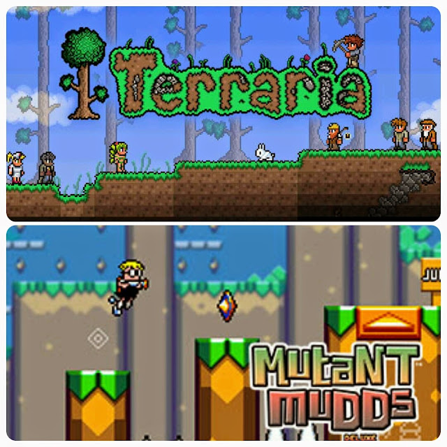 Terraria And Mutant Mudds Deluxe PlayStation Plus