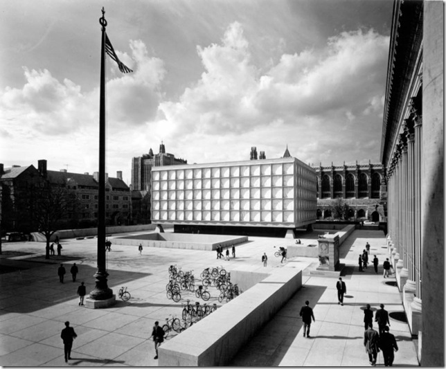 Ezra Stoller_Beinecke Rare Book and Manuscript Library - Skidmore, Owings, & Merrill