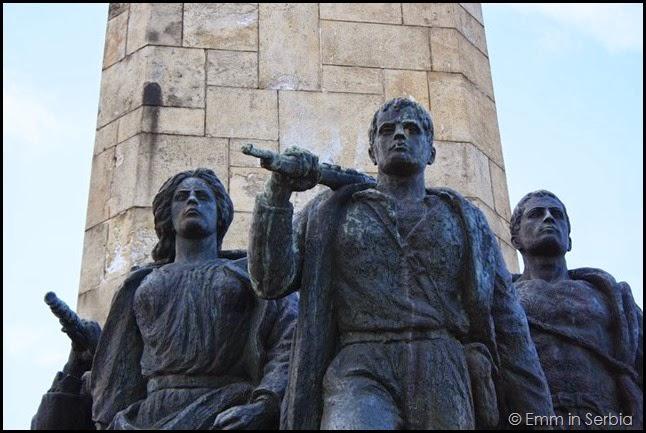 Novi Sad Spomenik Fruska Gora