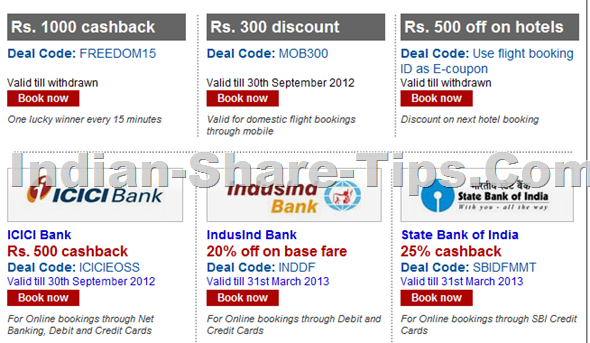 Makemytrip Discount deal codes