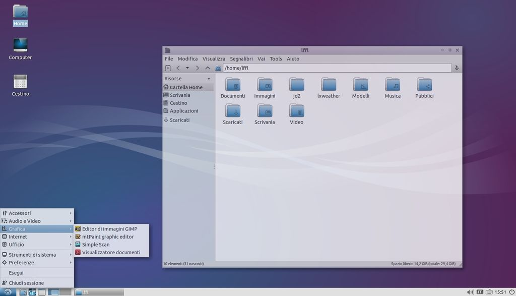 Compton Compositor in Lubuntu Linux