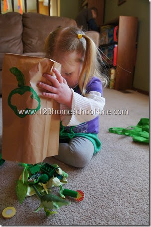 St. Patrick's Day Color Hunt for Preschoolers
