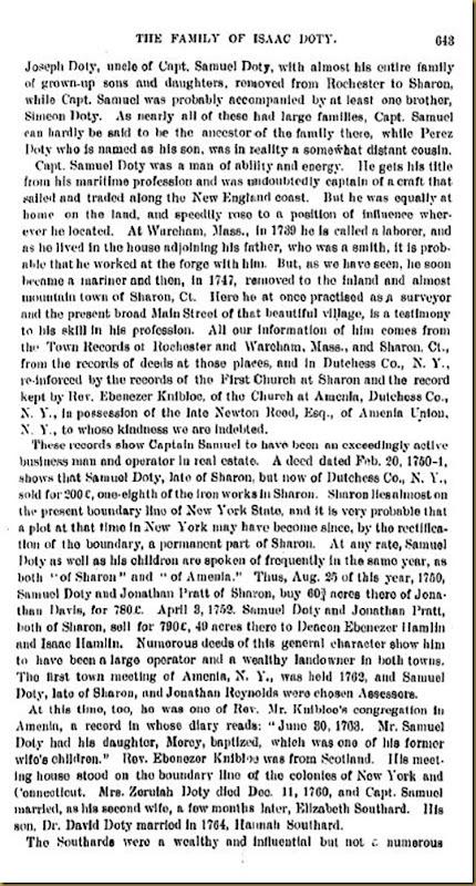 Doty-Doten Family In America-The Family of Joseph Doty18