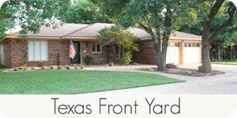 texas front yard