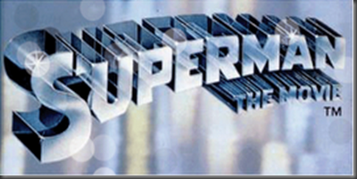 superman the movie logo