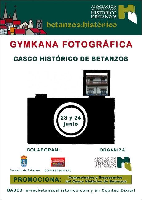 Cartel I Gymkana Casco Histórico de Betanzos