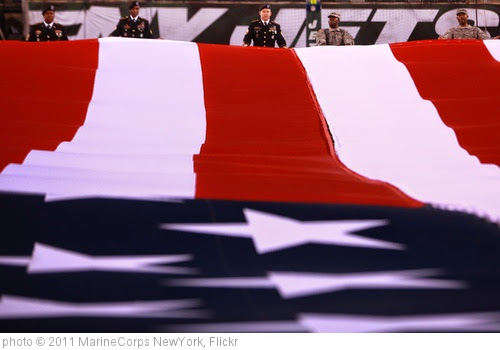 'New York Jets Military Appreciation Ceremony, 2011' photo (c) 2011, MarineCorps NewYork - license: https://creativecommons.org/licenses/by/2.0/