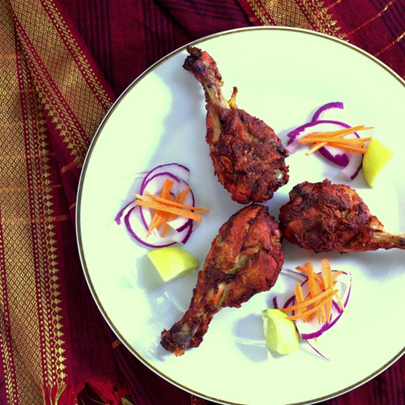 Tandoori chicken recipe oven roasted indian food recipes tandoori chicken recipe oven roasted forumfinder Image collections