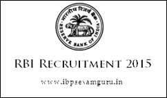 RBI 38 Junior Engineer Recruitment 2015