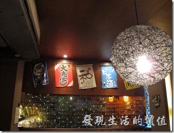 舞飛日式燒肉店內的一隅。