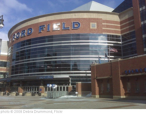 'Ford Field, host of the MotorCity Bowl being played on December 26, 2008' photo (c) 2008, Debra Drummond - license: https://creativecommons.org/licenses/by-sa/2.0/