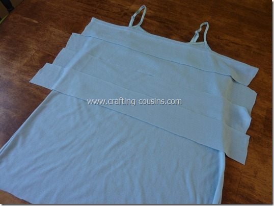 Crafty Cousins' ruffle tank tutorial (4)
