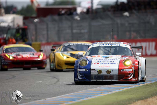 A second place would be the reward for a hard fought race for IMSA Porsche MATMUT (PHOTO: Porsche)