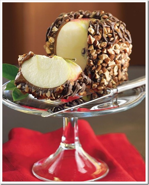 williams and sonoma giant caramel apple