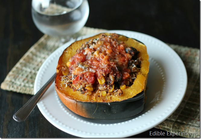 Itallian Stuffed Acorn Squash