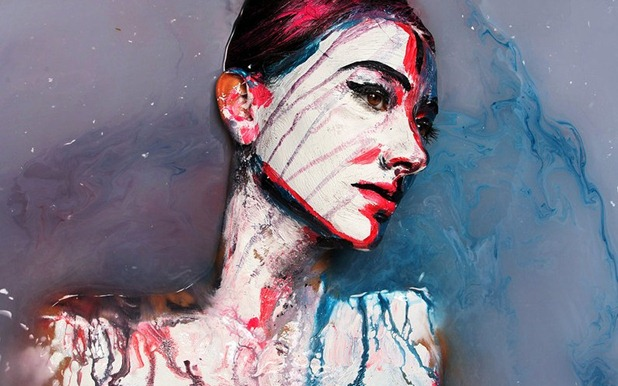 human paintings by alexa meade and sheila vand 4