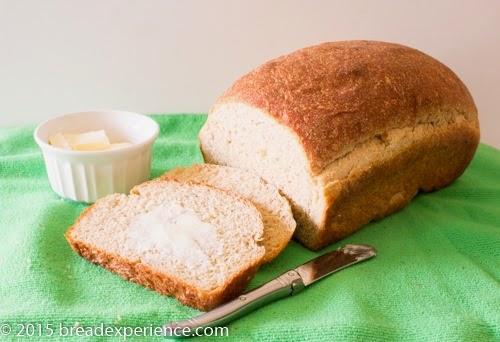 Sliced Potato Bread with butter, recipe Circa 1805