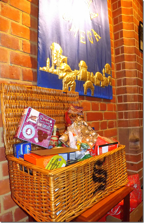 St Paul's  Christmas Hampers for Besom Camberley