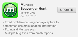 Munzee 2.03 for iOS