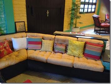 redone cushions
