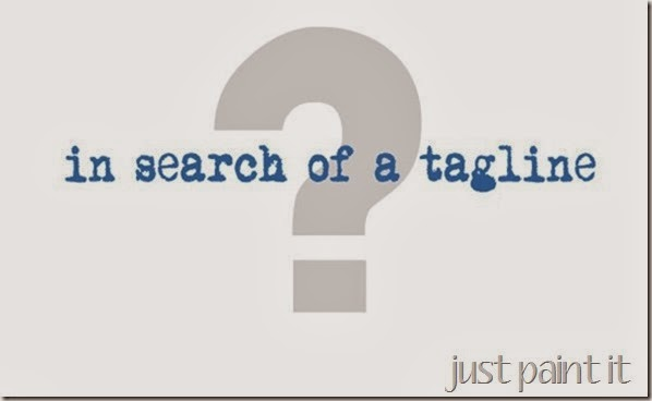 The Search for a Tagline