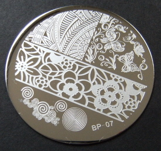 BornPrettyStore BP-07 stamping plate