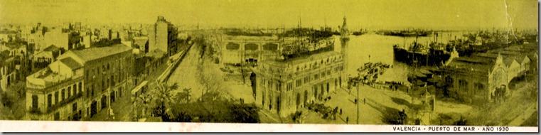 Valencia-Puerto de Mar-1930
