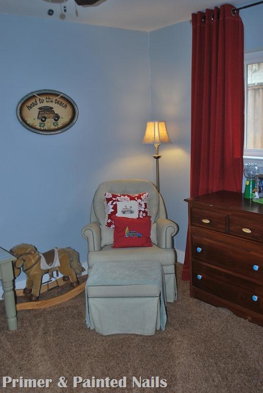 Rocking Chair - Primer&PaintedNails