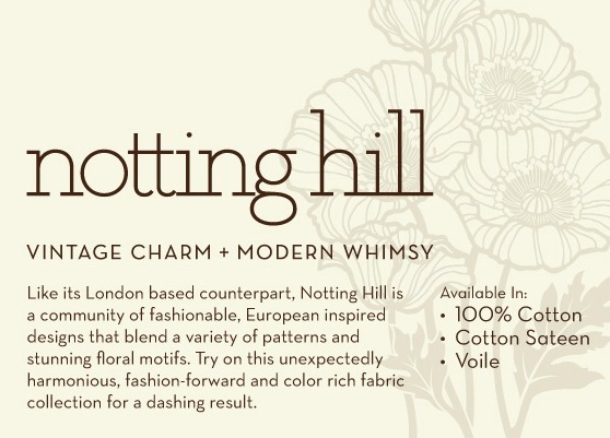 notting hill fabric by joel dewberry