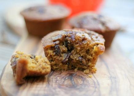 pumpkin streusel muffins 3