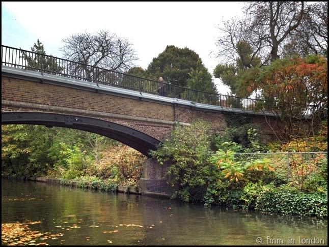 Autumn along Camden Lock