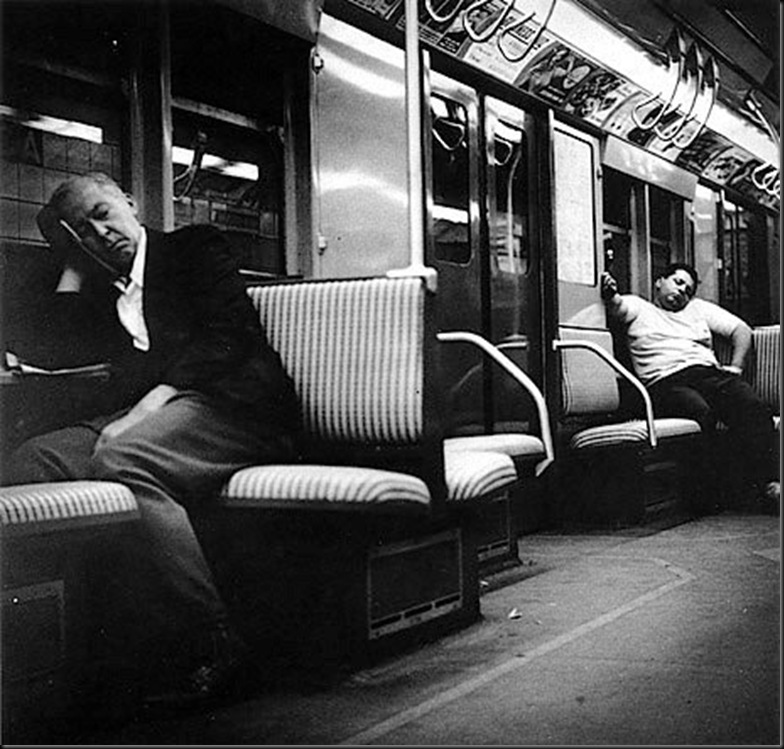 Subway Sleepers, 1950