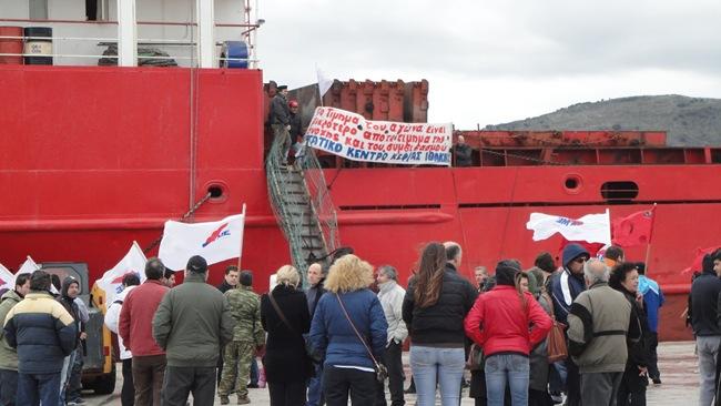 ΠΑΜΕ: Συμπαράσταση στη στάση εργασίας του σωματείου φορτοεκφορτωτών