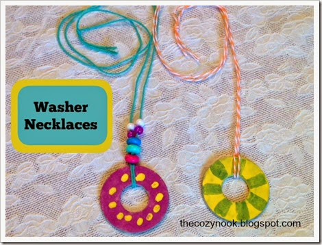 Washer Necklaces - The Cozy Nook