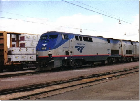 Placespages trains in havre mt amtrak p42dc 152 in havre montana in may 2003 sciox Choice Image