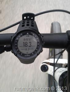 En vélo la ambit offre un affichage clair