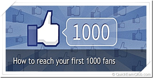 First 1000 Fans on Facebook