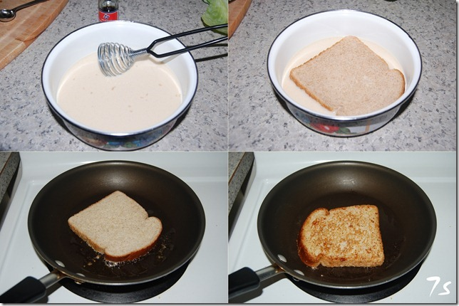 French toast process