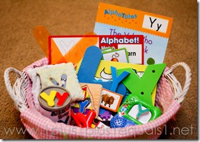 Tot School Letter Y-4933