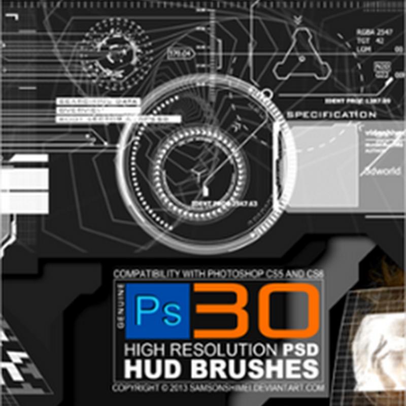 17 paquetes de pinceles gratis para Photoshop