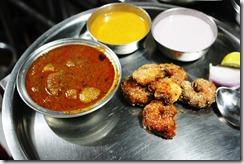 prawn thali