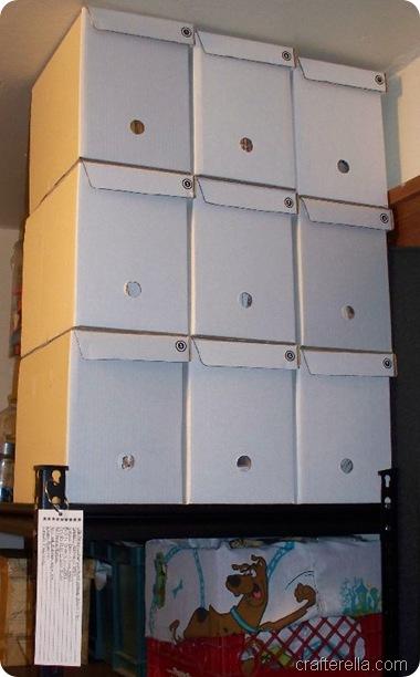 pattern storage boxes